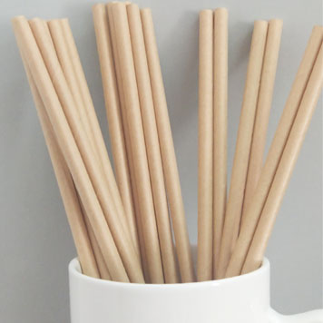 Brown Kraft Paper Straws